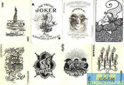 扑克牌中大小王欣赏