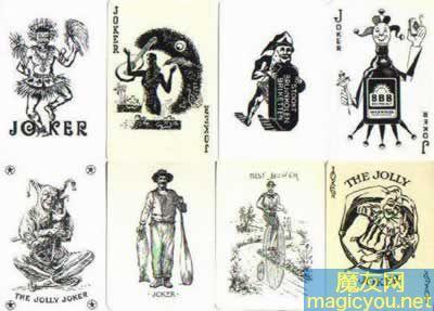 扑克牌中大小王欣赏_魔术杂谈_魔术文化 - 第3页 _魔友网-魔术教学网