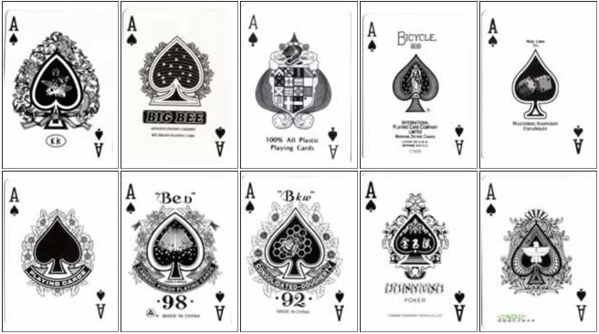 扑克黑桃a欣赏