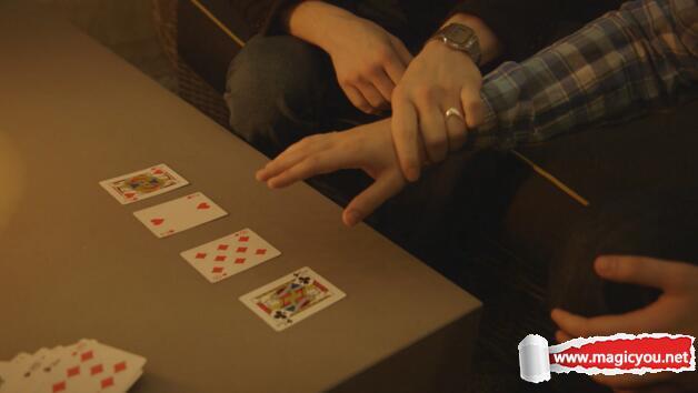 The Circus Card Trick by Jared Kopf