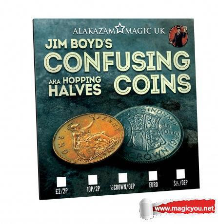2017 硬币魔术 Confusing Coins by Jim Boyd